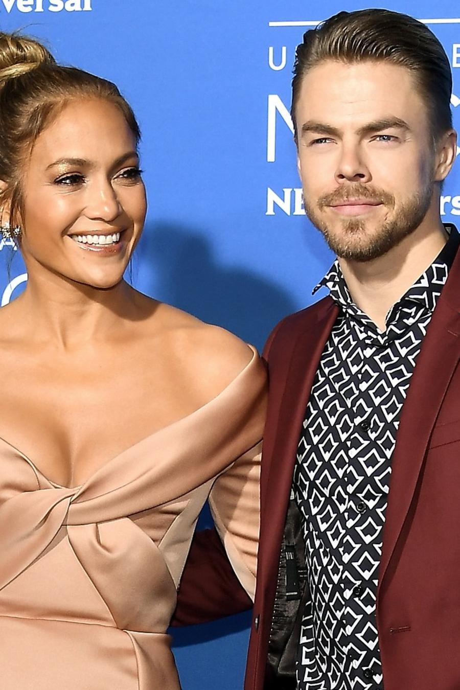 Jennifer Lopez y Derek Hough