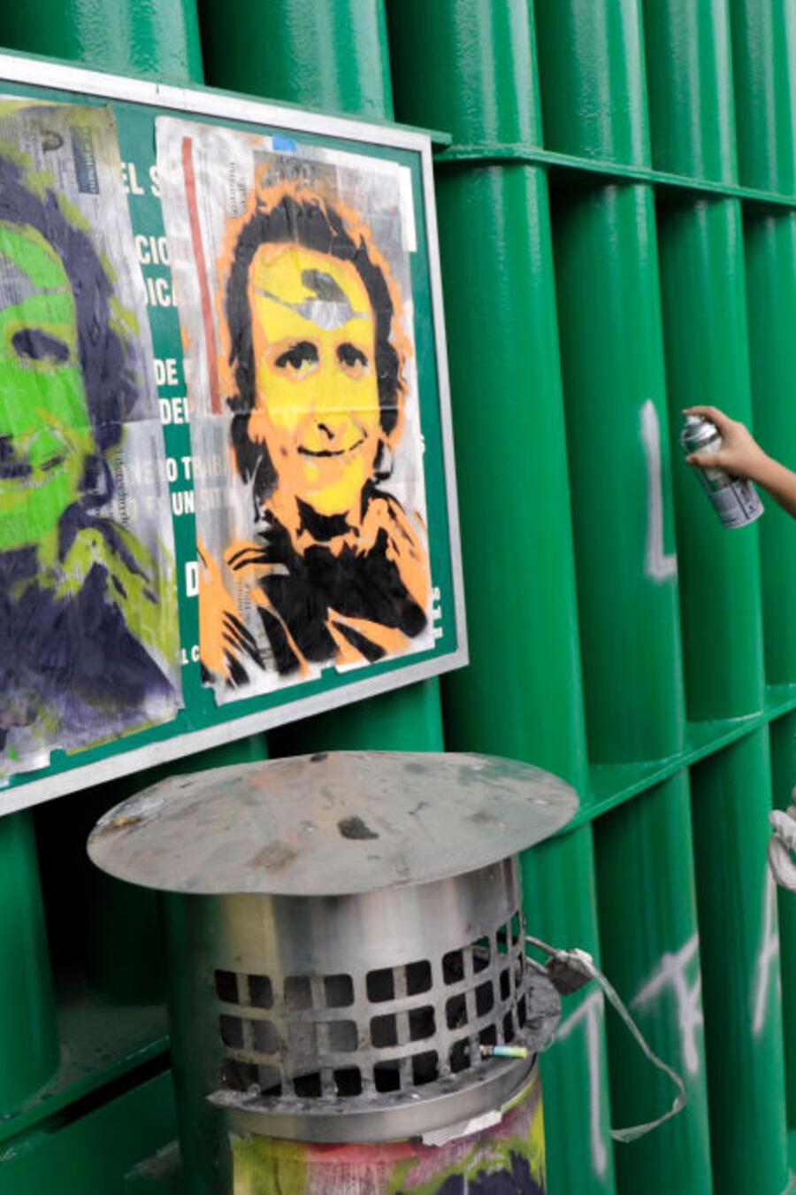 La protesta del pasado 24 de junio frente al IMSS de Ciudad de México, para exigir justicia por la muerte deMaría Elizabeth Montaño Fernández.
