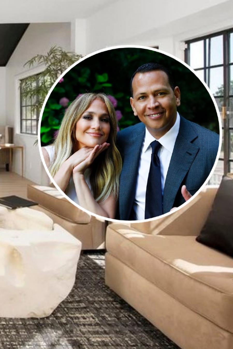 Casa de Encino de Jennifer Lopez y Alex Rodriguez