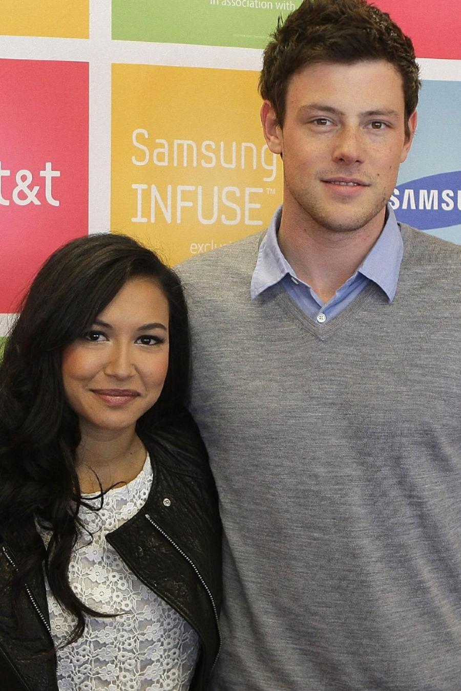 Naya Rivera y Cory Monteith