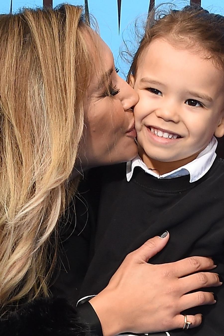 Naya Rivera y su hijo Josey