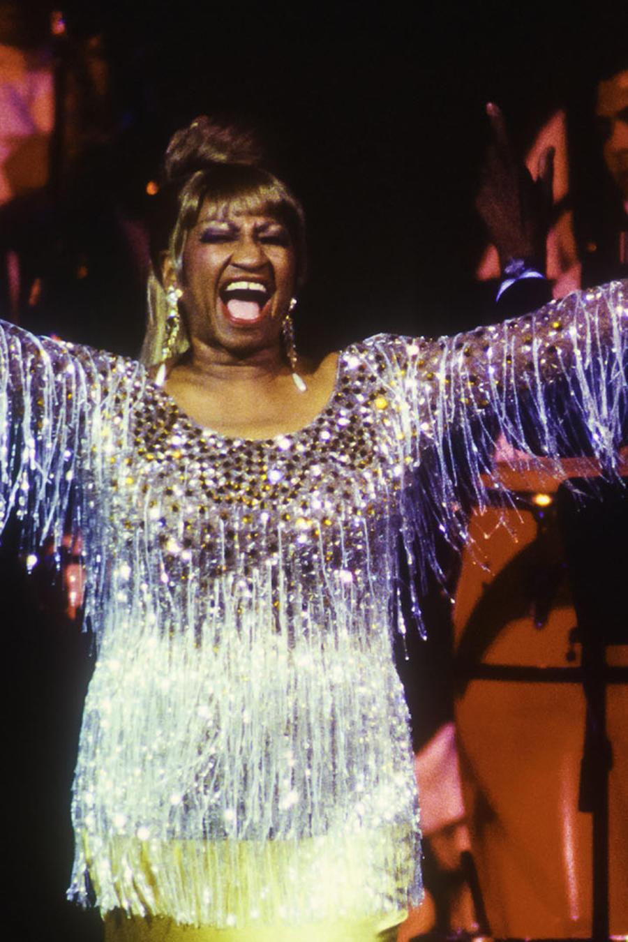 Celia Cruz en el Carnegie Hall 1995