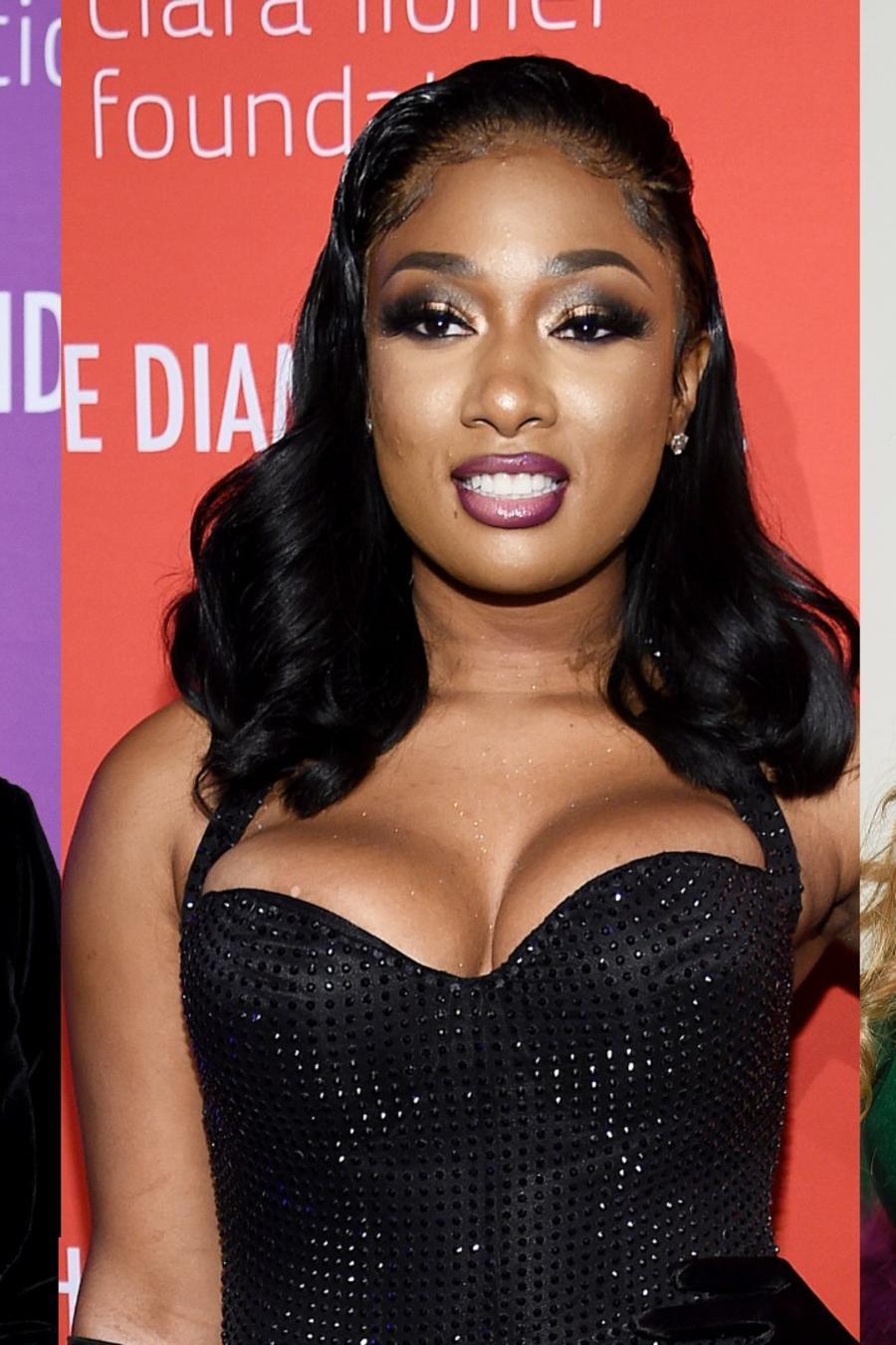 Rihanna, Megan Thee Stallion, Beyoncé