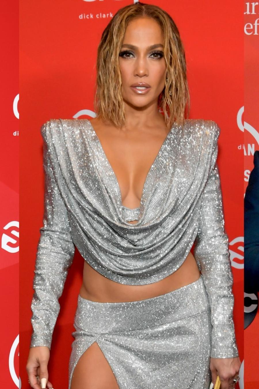 Dua Lipa, Jennifer Lopez, Maluma, en American Music Awards 2020