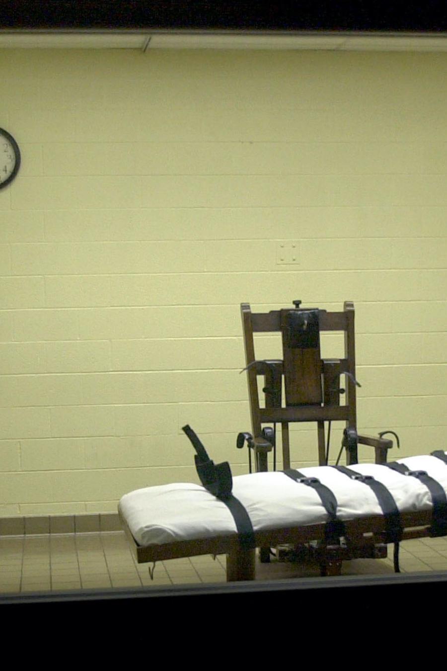 Cámara de ejecuciones de una prisión de Ohio, en una imagen de archivo.