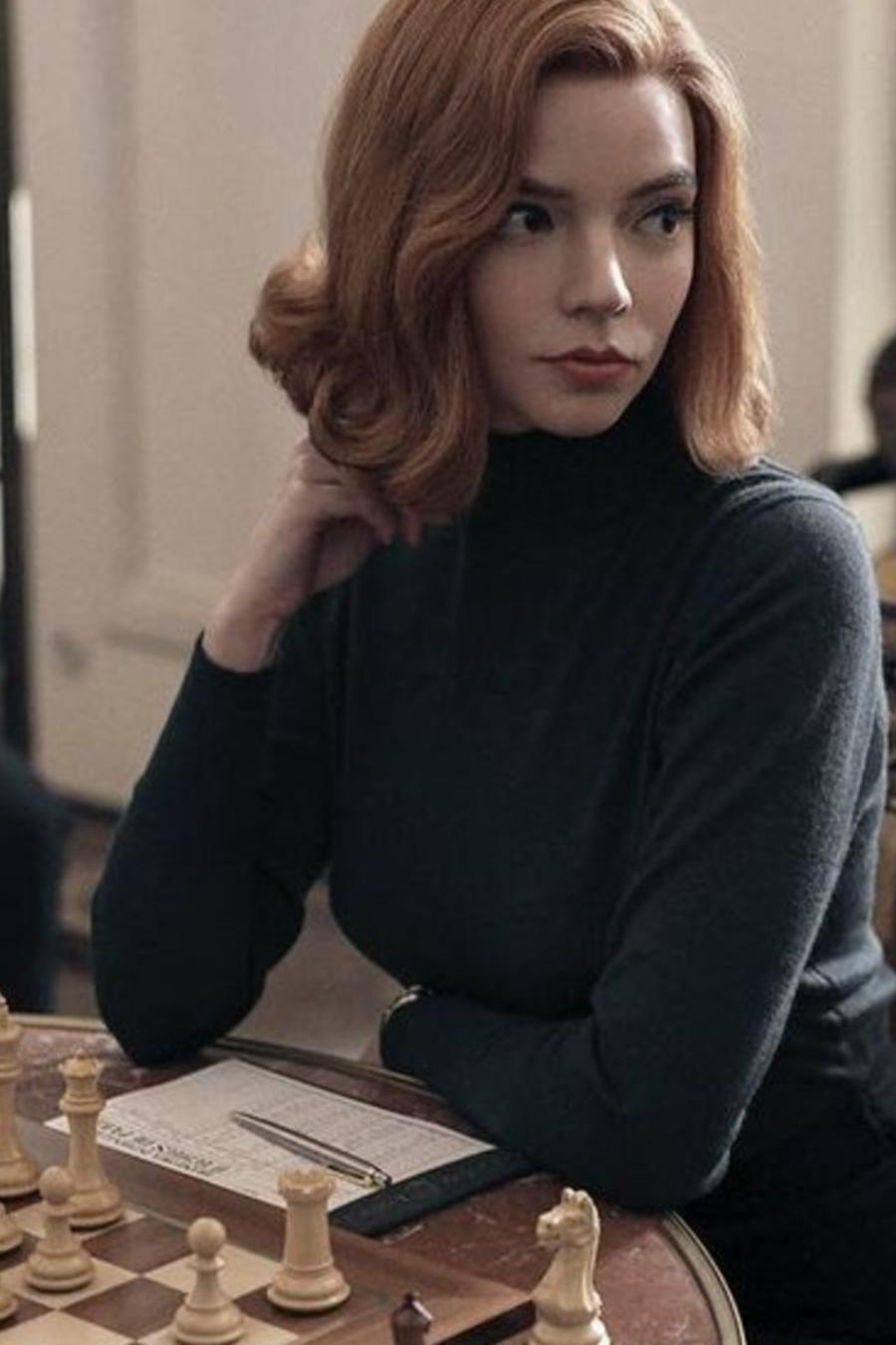 Anya Taylor-Joy en 'The Queen's Gambit'