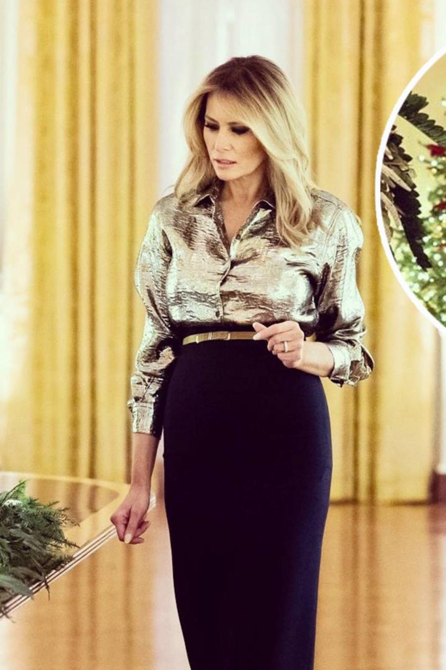 Melania Trump, Navidad 2020 en la Casa Blanca