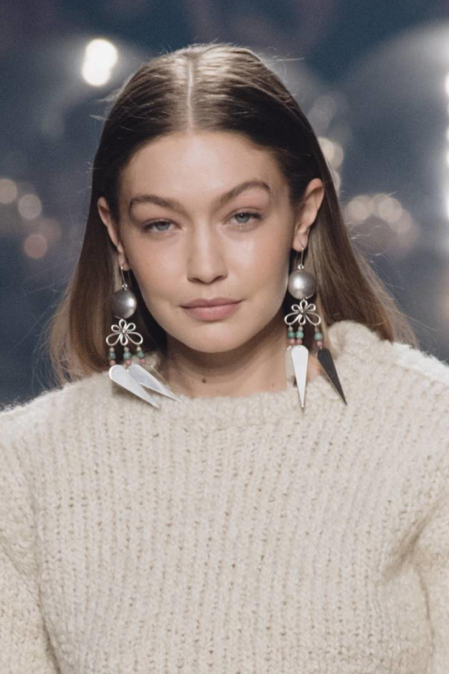 Gigi Hadid Paris, France 2021