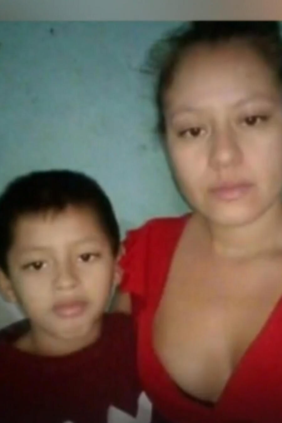 Wilton Gutiérrez y su madre, Meyling Obregón Leiva