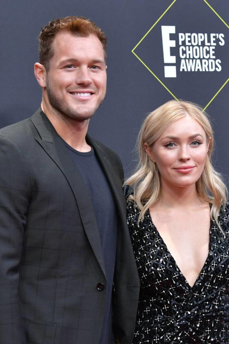 Colton Underwood y Cassie Randolph en los E! People's Choice Awards