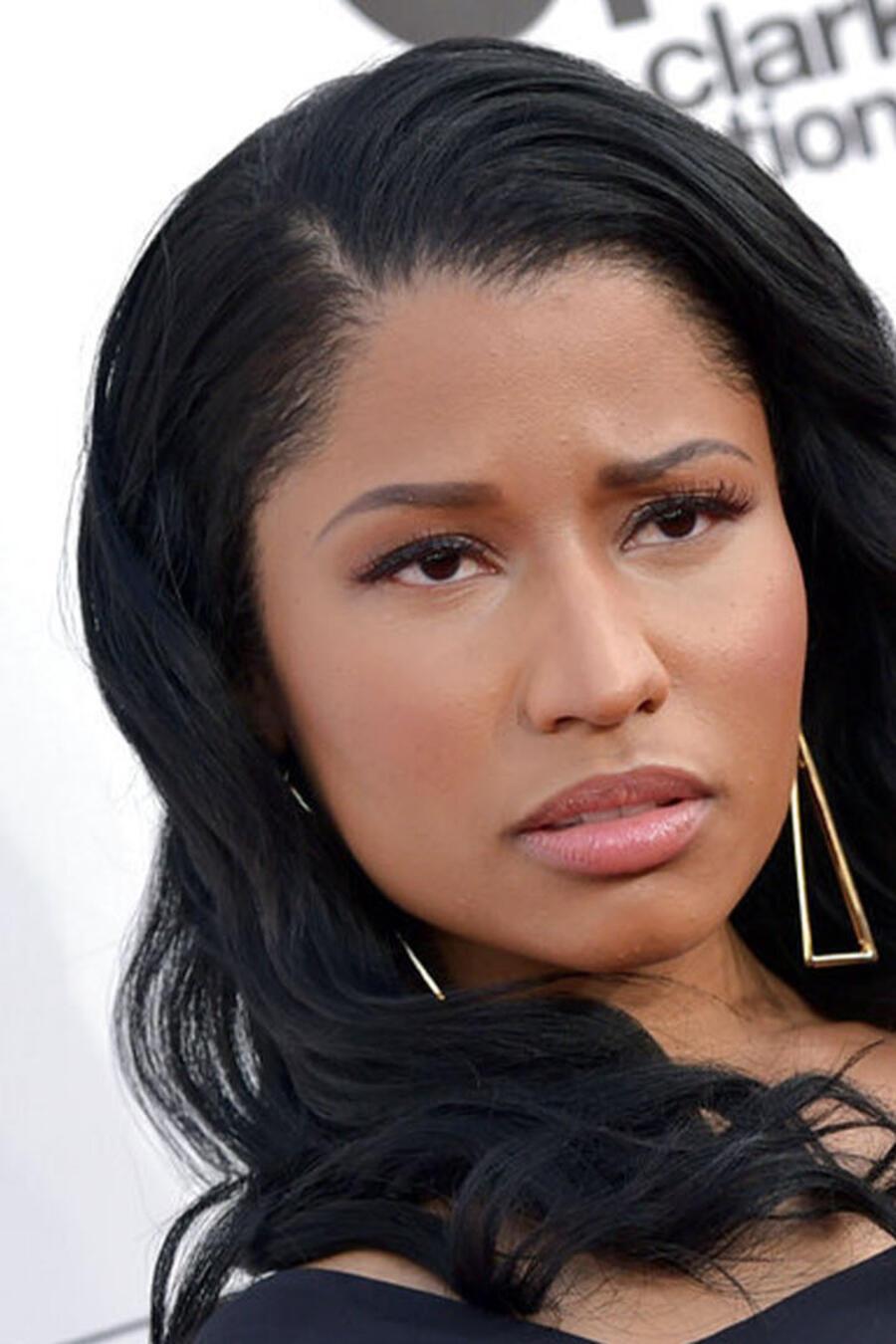 La rapera Nicki Minaj durante una entrega de premios en 2014