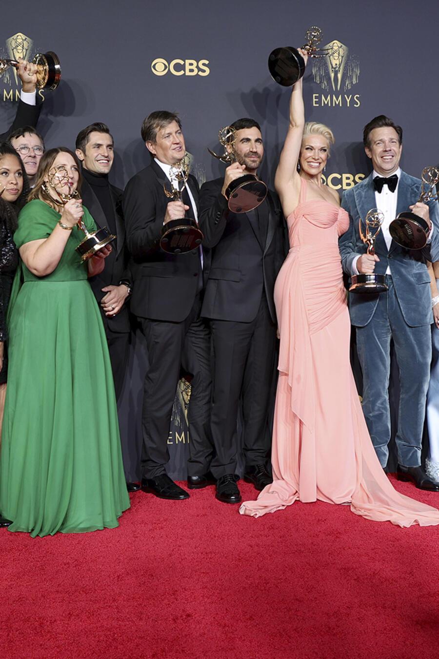 Ganadores premios Emmy 2021.
