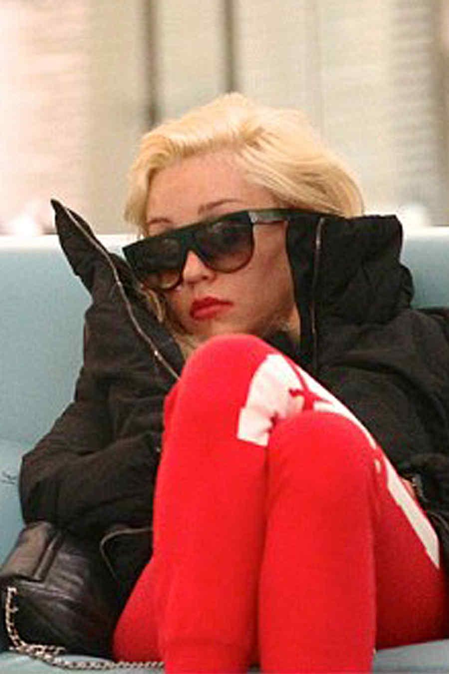 Amanda Bynes duerme en un mall