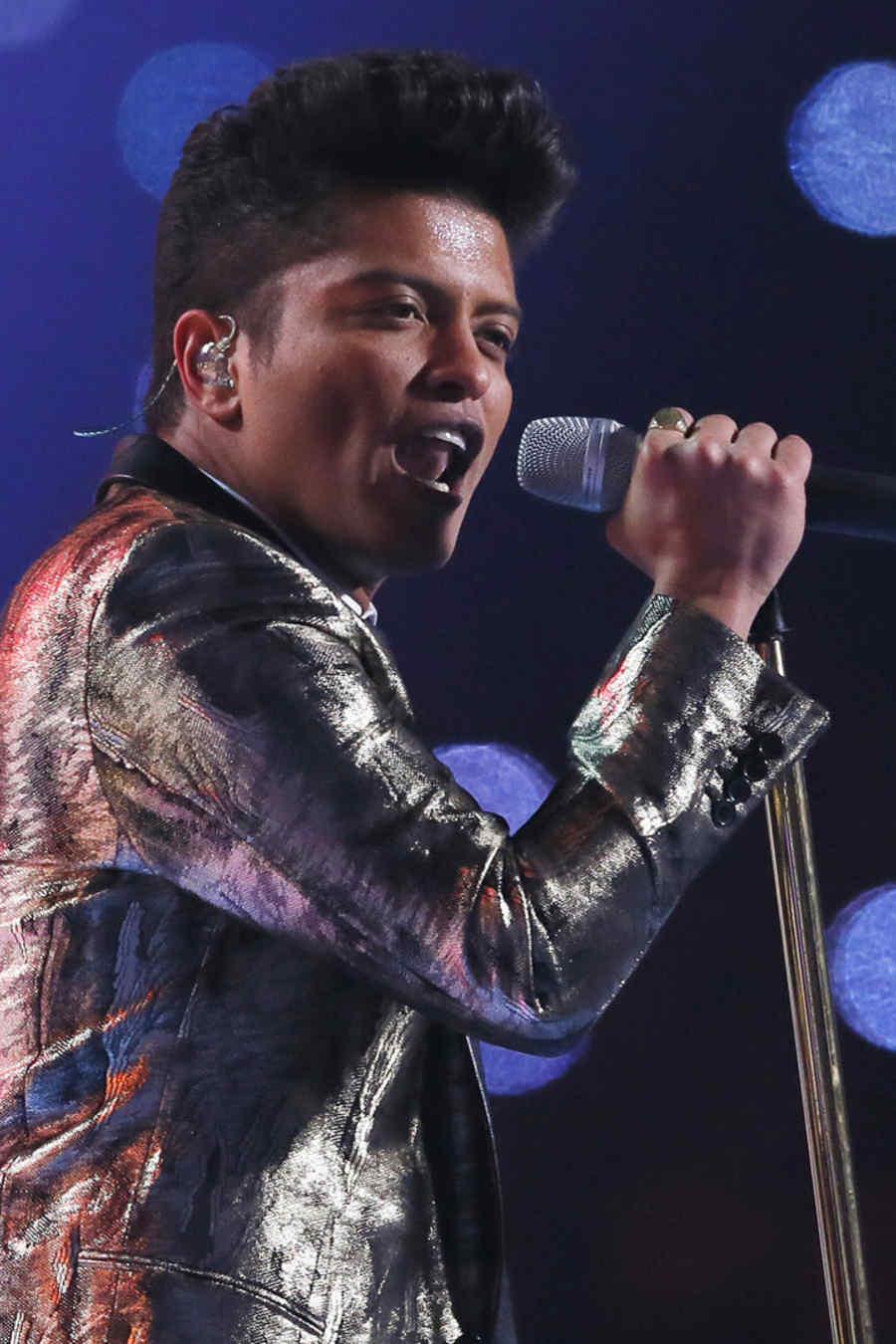 Bruno Mars Pepsi Super Bowl XLVIII Halftime Show