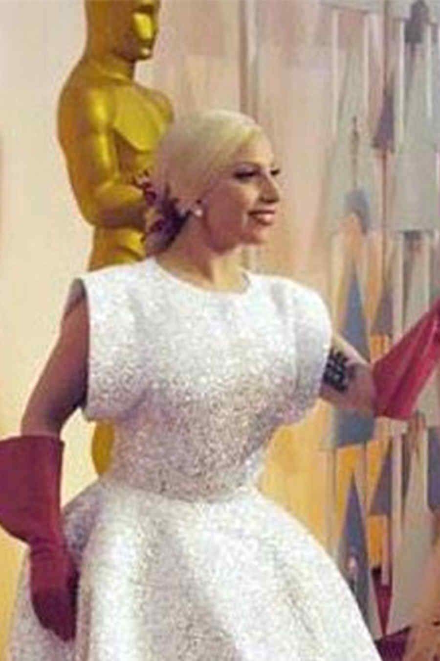 Lady Gaga meme, Oscars 2015.