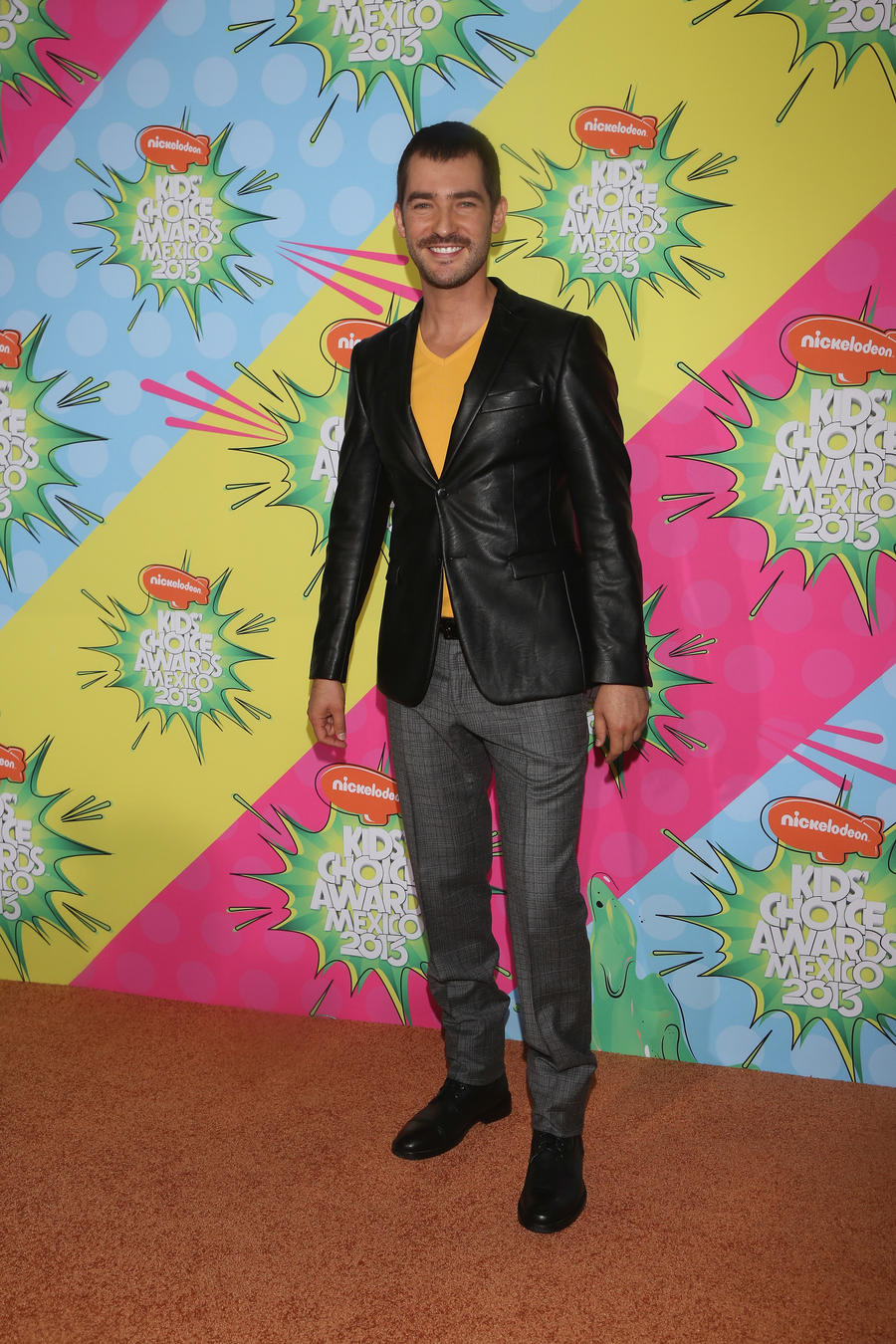 Manuel Balbi en los Kids Choice Awards Mexico 2013