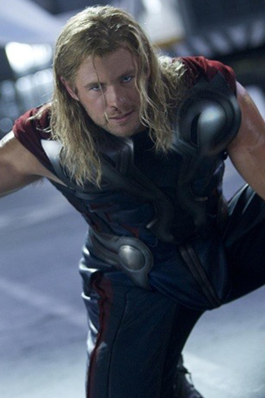 """Chris Hemsworth en el personaje de """"Thor"""""""