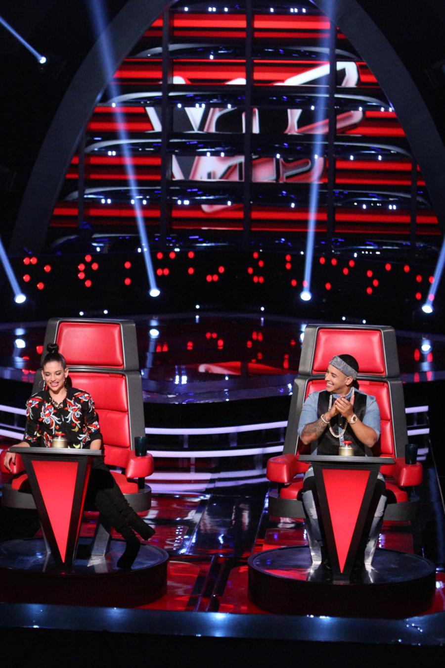 Pedro Fernández Daddy Yankee Natalia Jiménez audiciones a ciegas La Voz Kids 2016