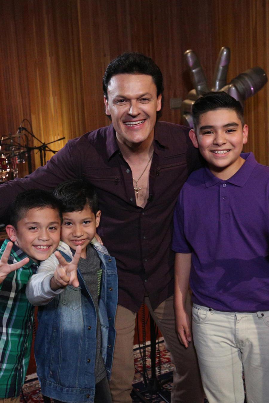 Pedro Fernández Joel Gabriel y Gumaro ensayos La Voz Kids 2016