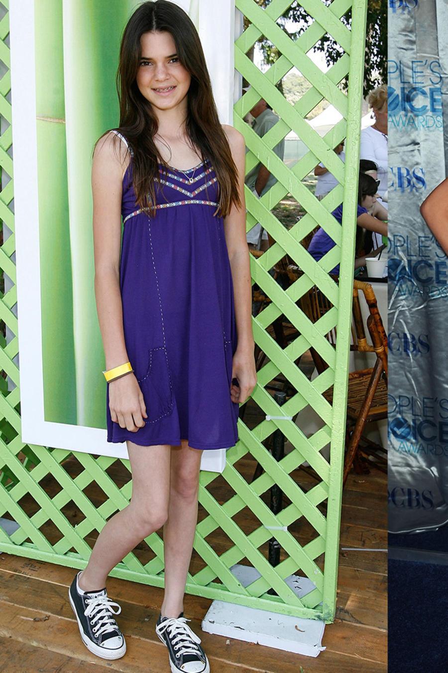 Kendall en 2008, 2011 y 2016