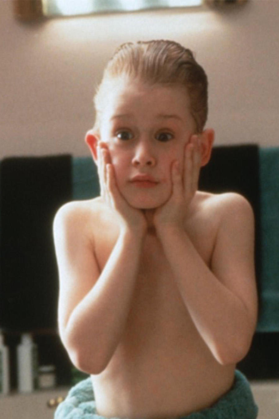 "Macaulay Culkin en ""Home Alone""."
