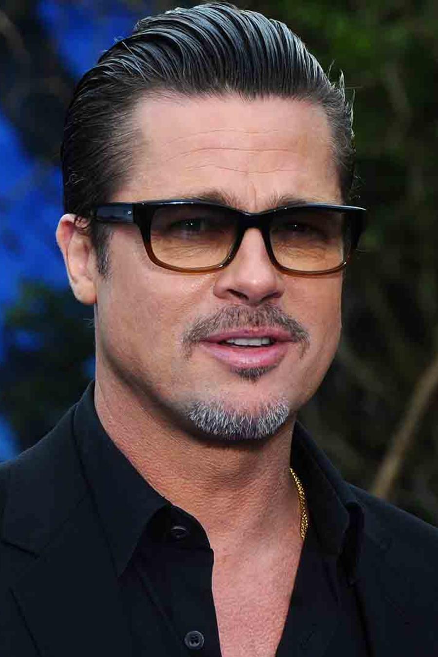 "Brad Pitt y Angelina Jolie en Disney ""Maleficent"""
