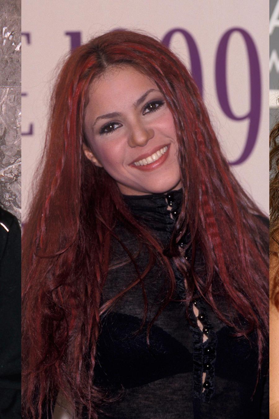 La transformación del cabello de Shakira