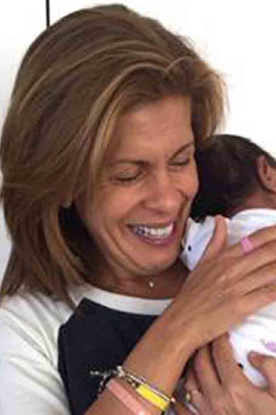 Hoda Kotb adoptó a su primera bebé