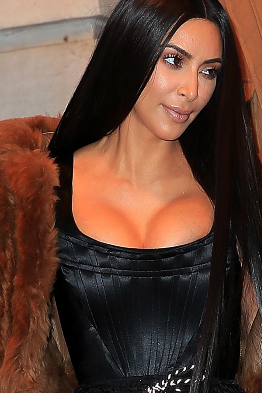 Kim Kardashian en NYC, 17 de febrero