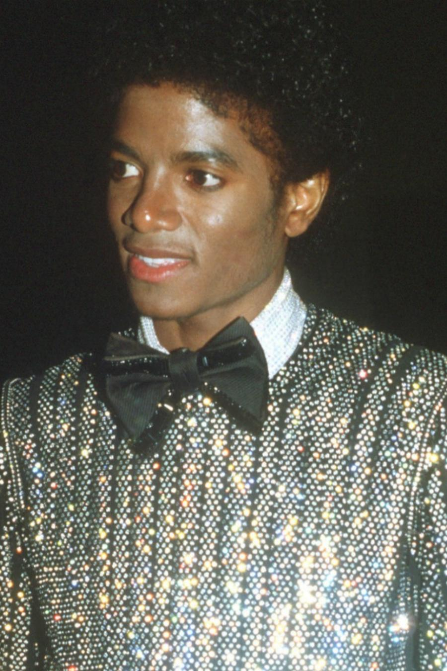 Collage de Michael Jackson en 1979 y en 1993.