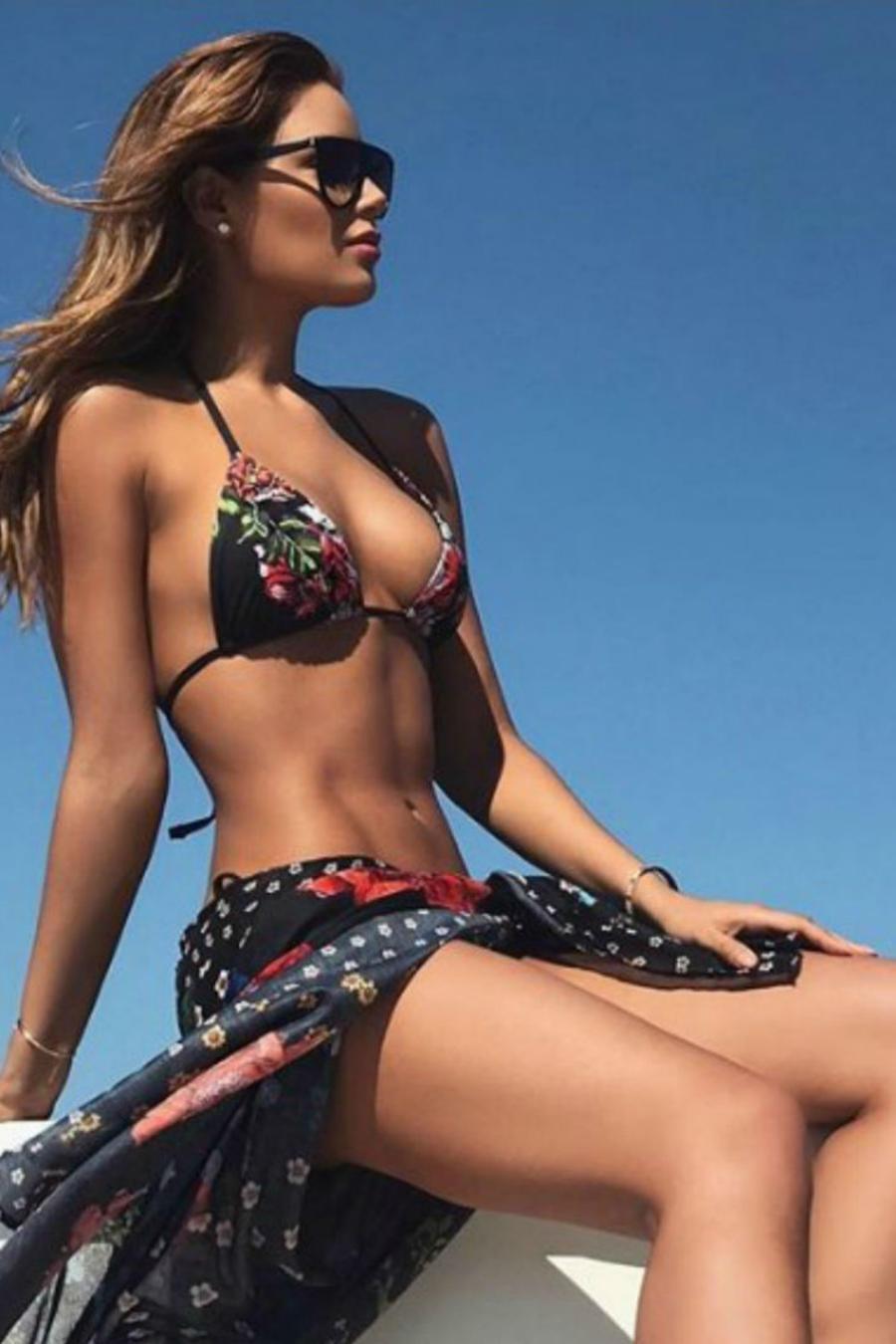 Collage Ariadna Gutiérrez en bikini