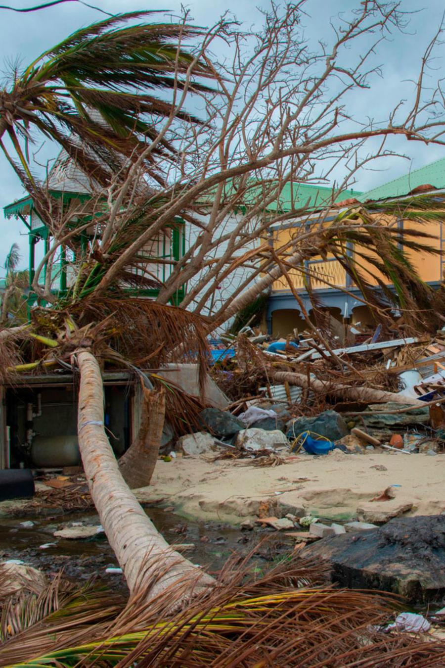 Destrozos del huracán María en Puerto Rico