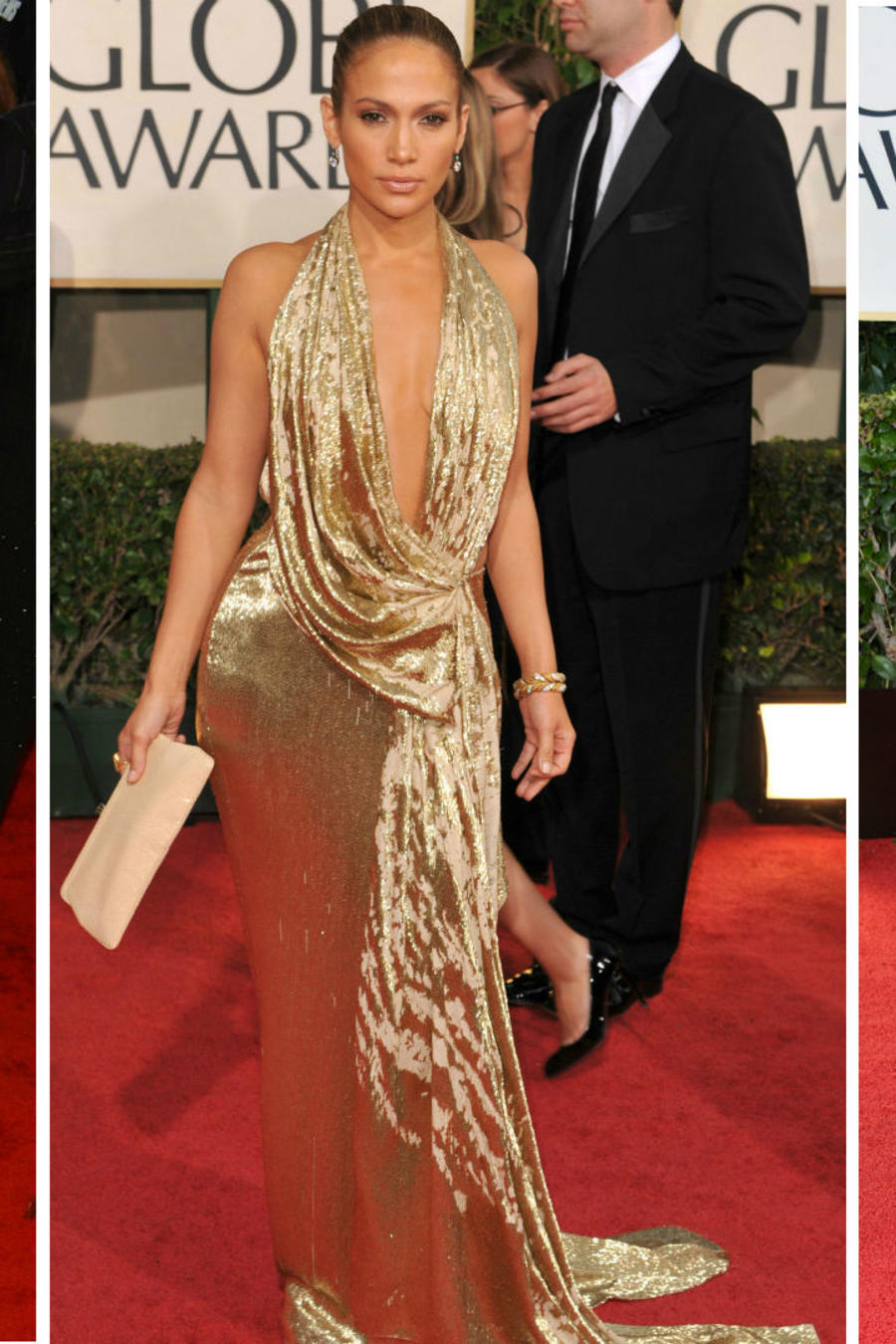 Collage latinas sexis en los Golden Globes