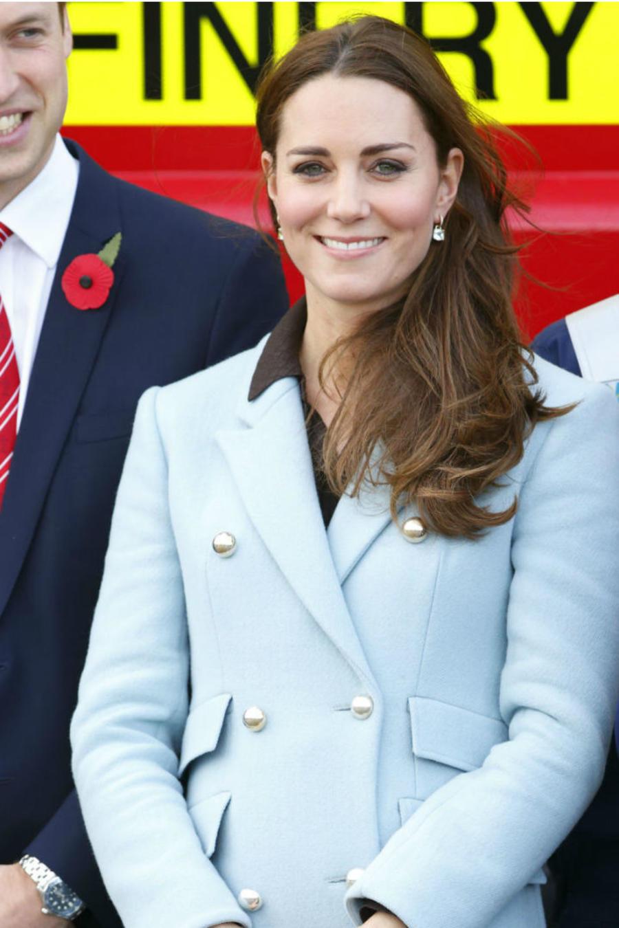 Collage Kate Middleton embarazada