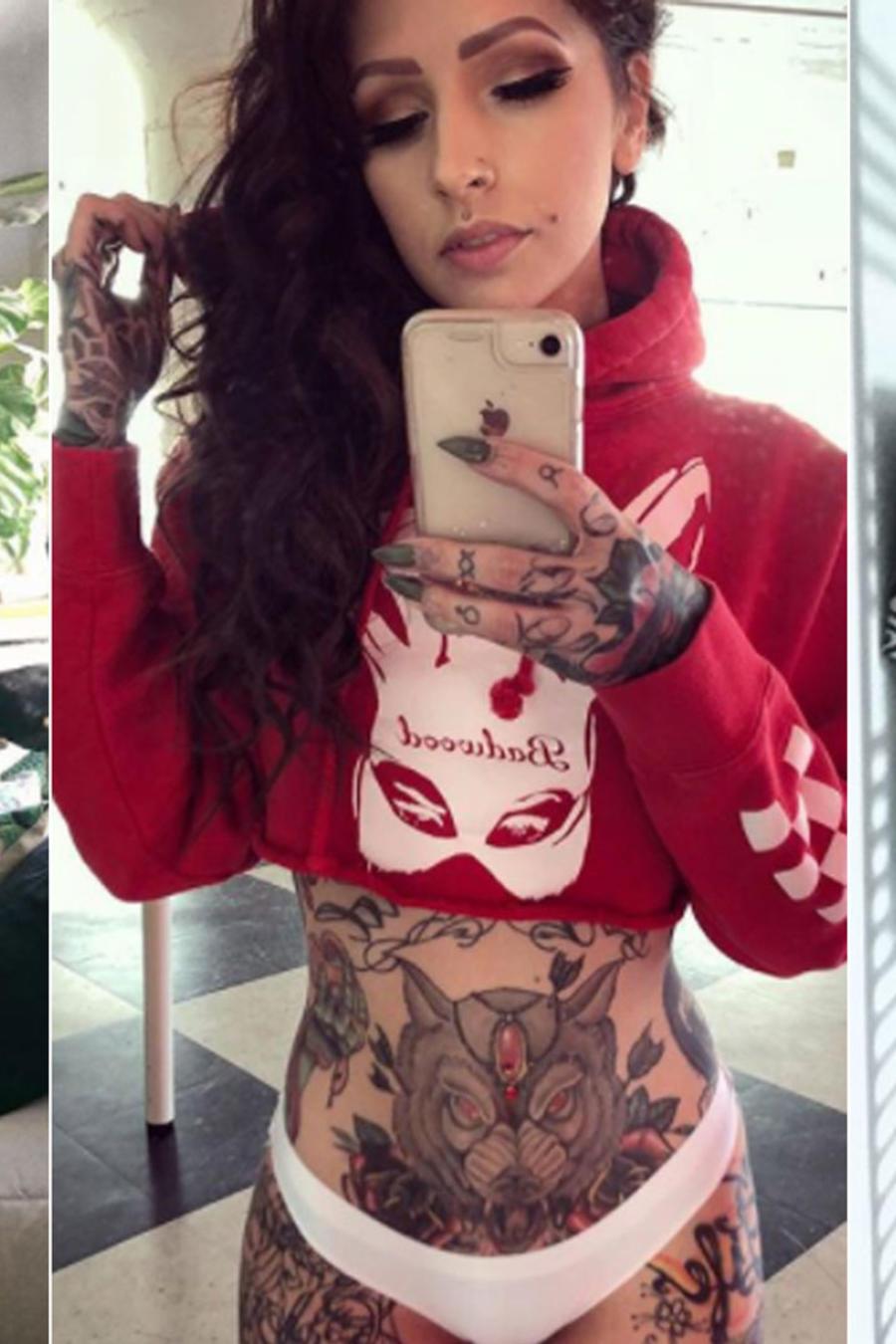Chicas de Instagram con tatuajes