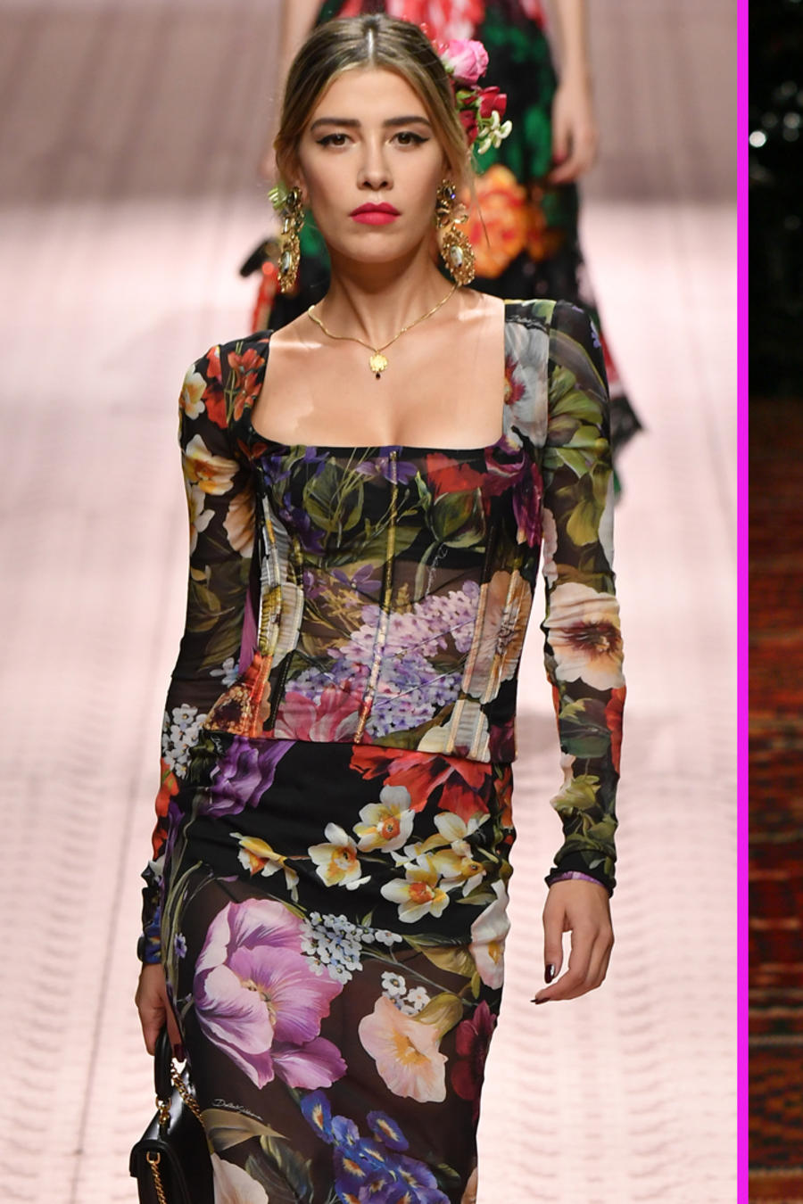 Michelle Salas fanática de la moda.