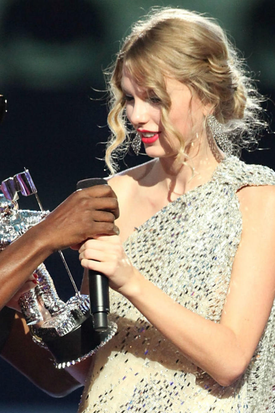 Kanye West y Taylor Swift en los MTV Video Music Awards 2009
