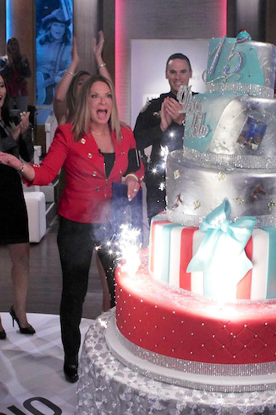 Celebración 15 años de Ana María Polo en Telemundo