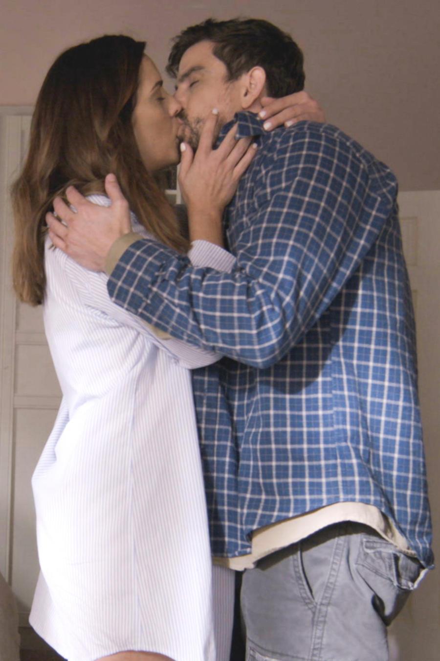 Jorge Luis Moreno y Sabrina Seara en Mi Familia Perfecta