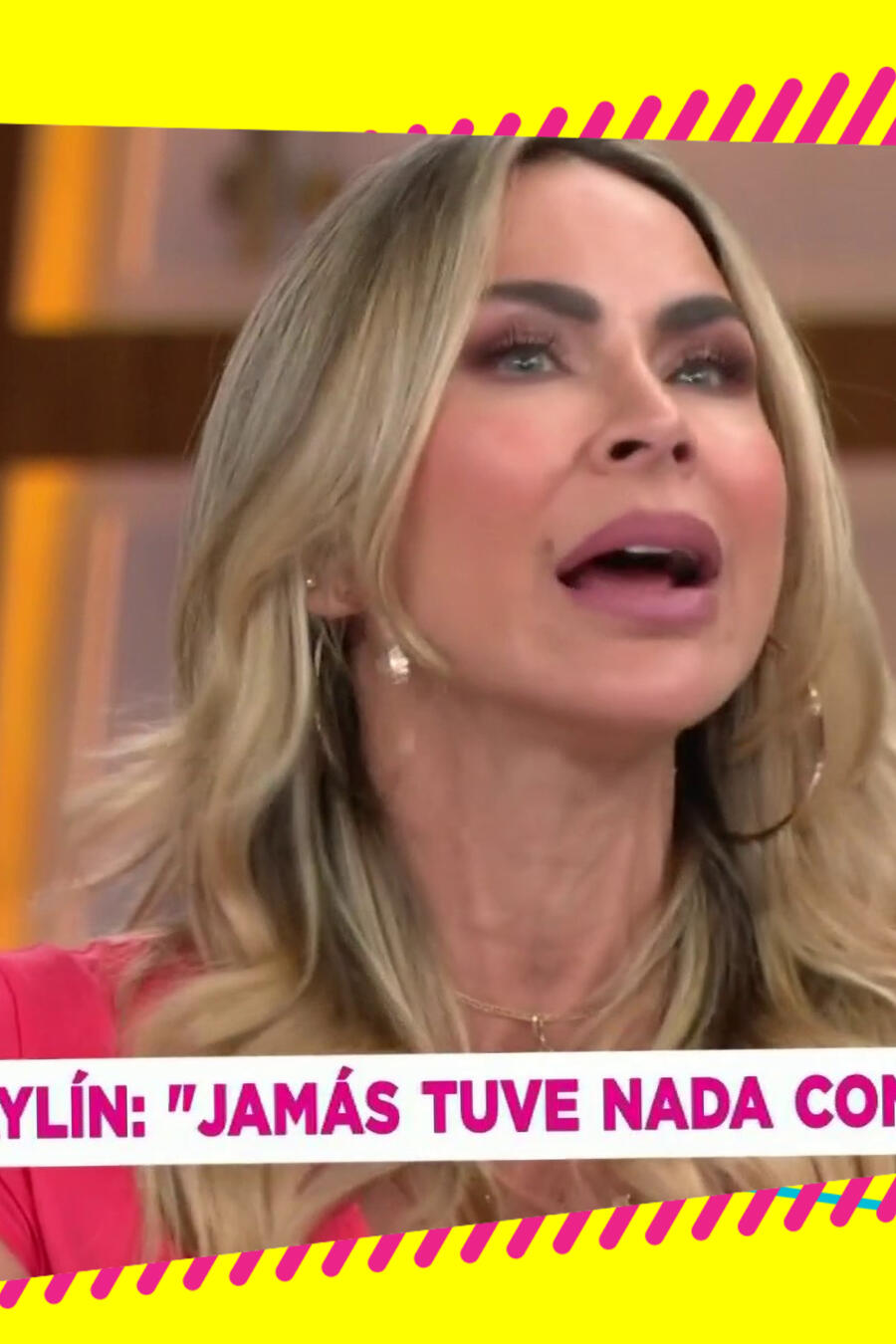 Aylín Mujica episodio Pepillo y Paulina Rubio