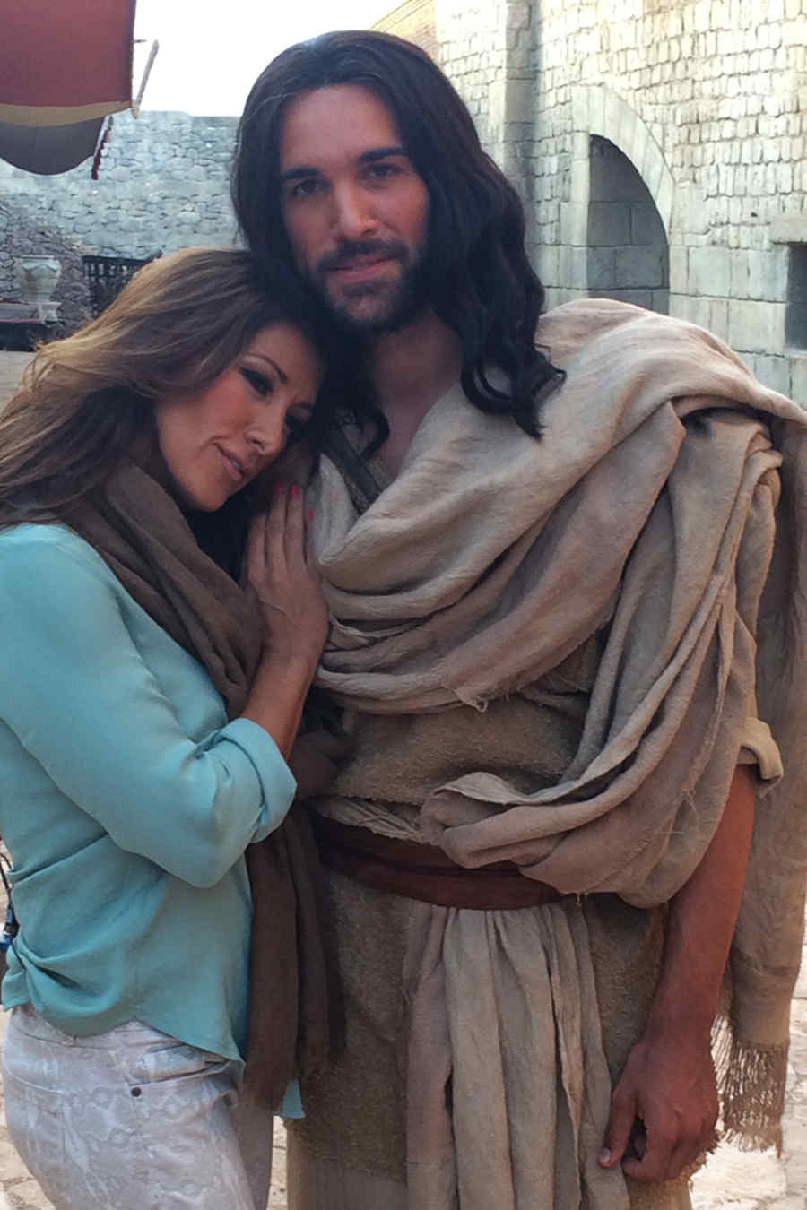 Azucena Cierco junto a Juan Pablo Di Pace