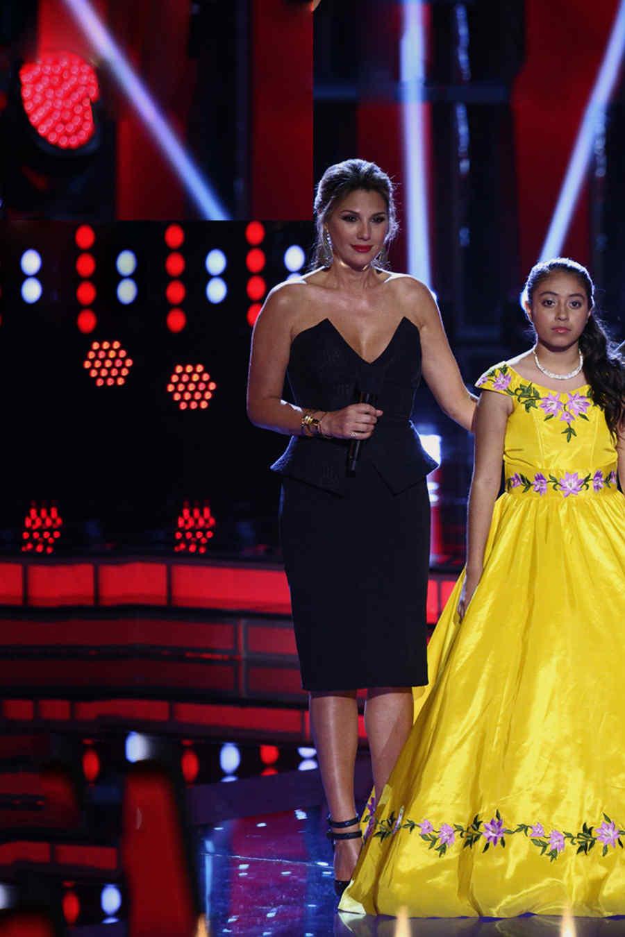 Team Natalia, finalistas, semifinal, la voz kids