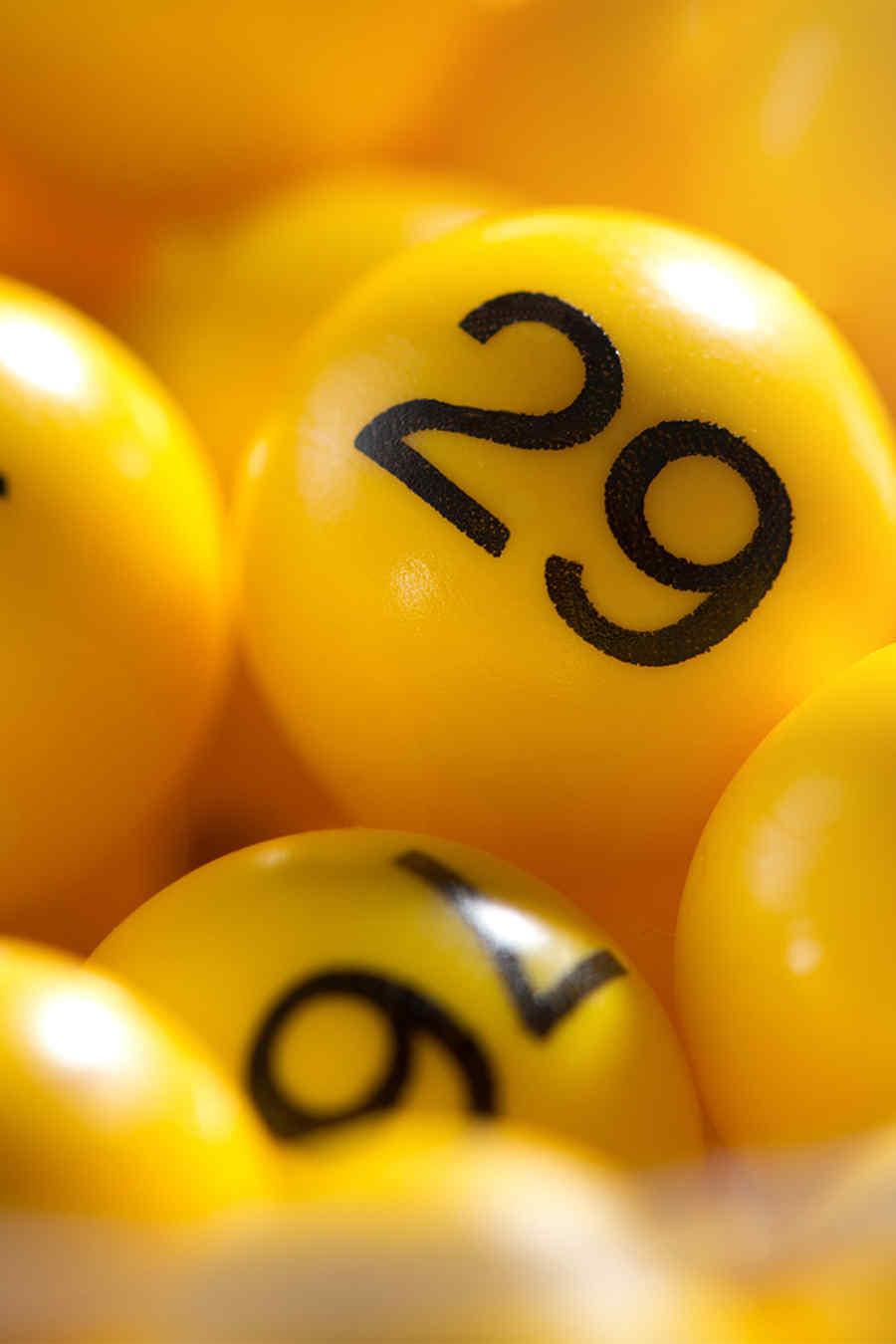 Números de la lotería