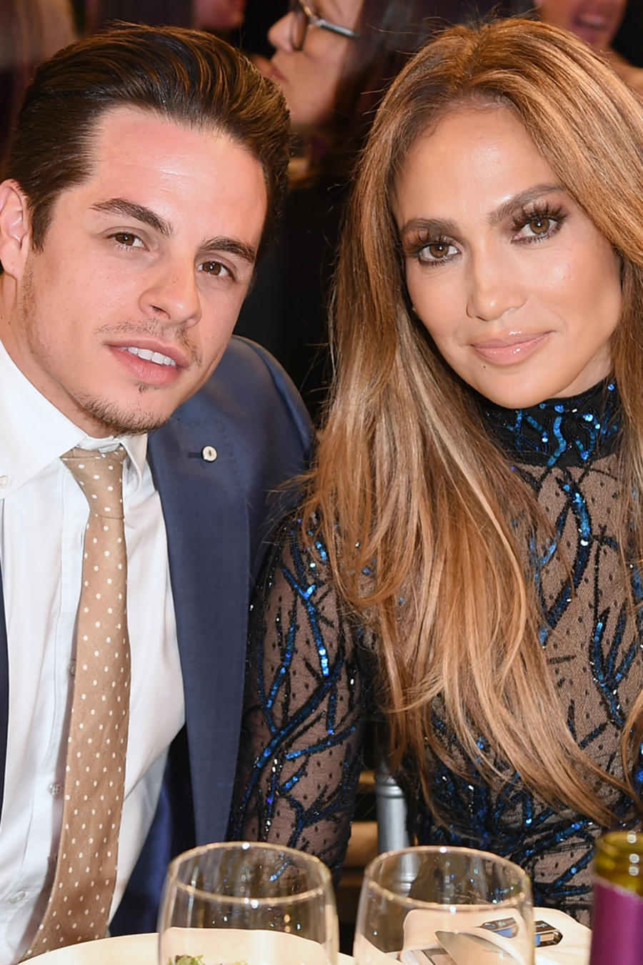 Jennifer Lopez y Casper Smart