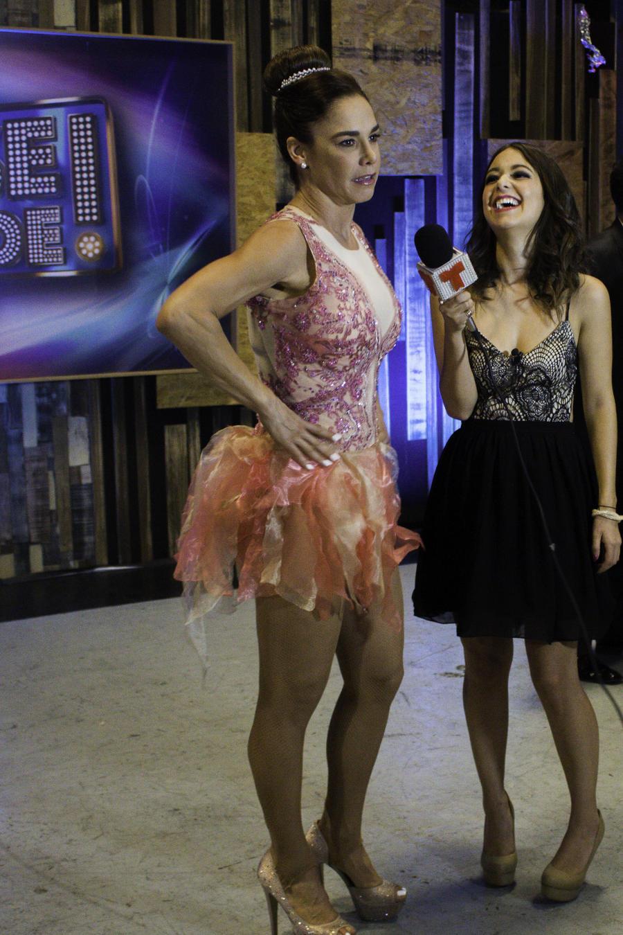 Lis Vega en entrevista con Caeli luego del show 5 de Sí Se Puede
