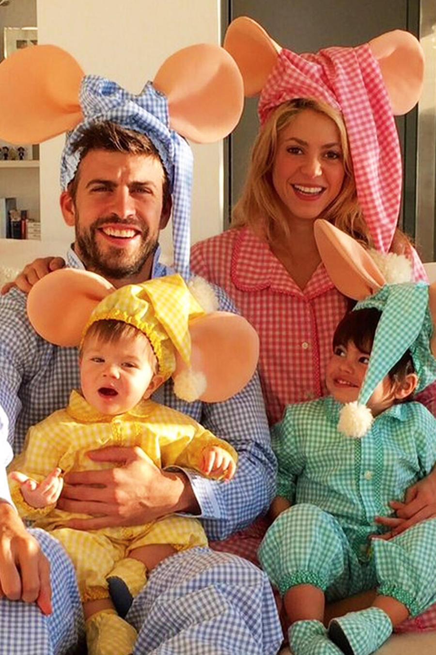 foto curiosa familia shakira