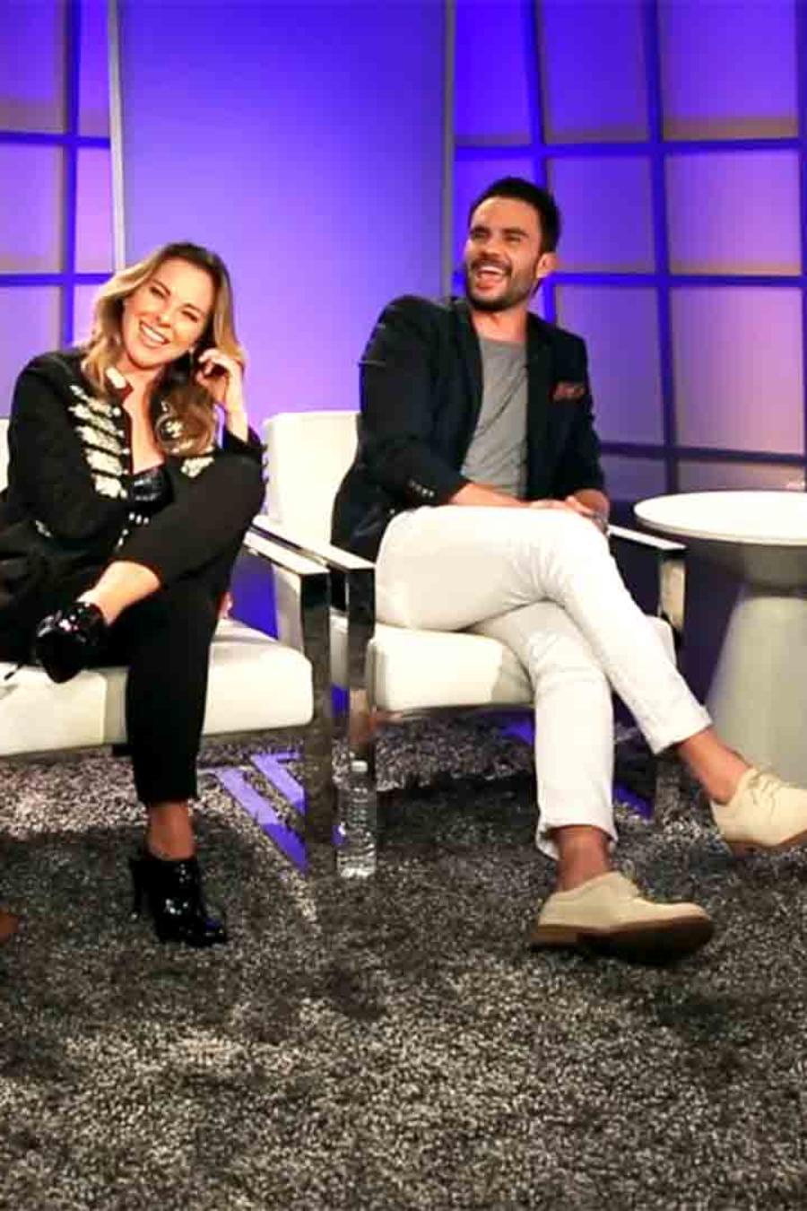 Kate del Castillo, Juan Pablo Raba y Rodrigo Santoro