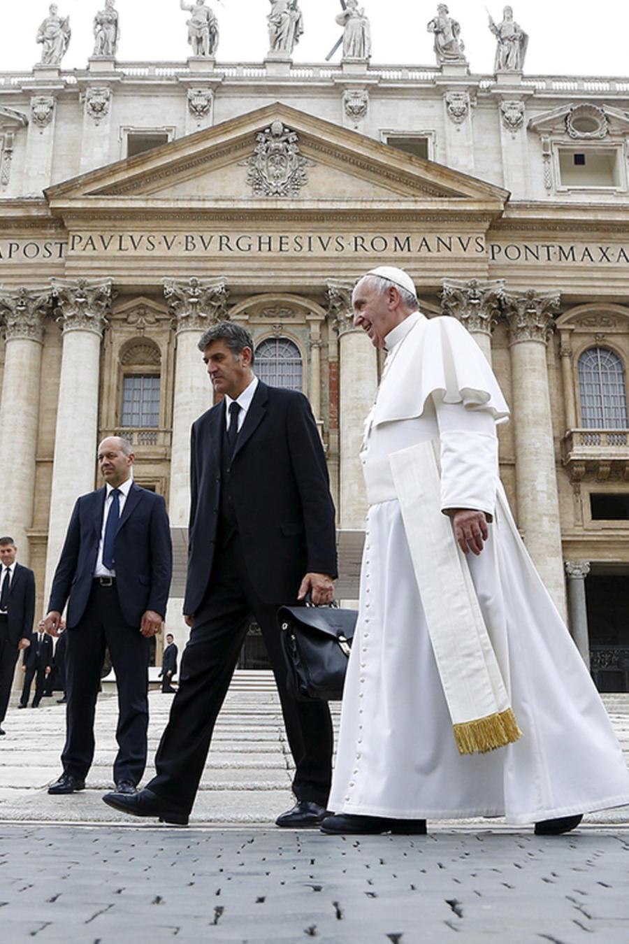 traicion al papa