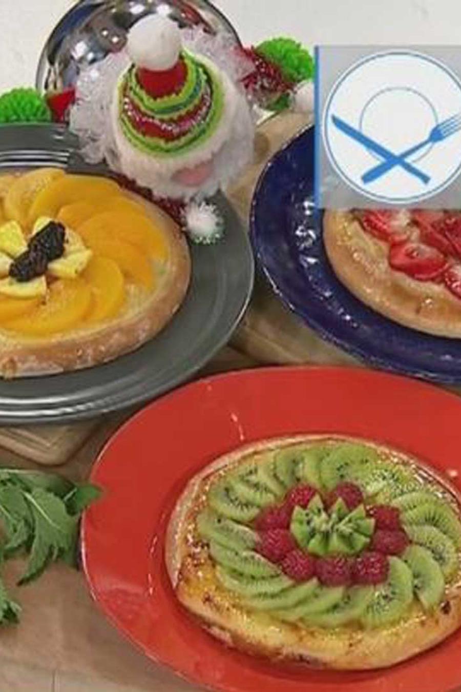 receta de cocina: aprende a cocinar un postre de pizza con queso y fresas