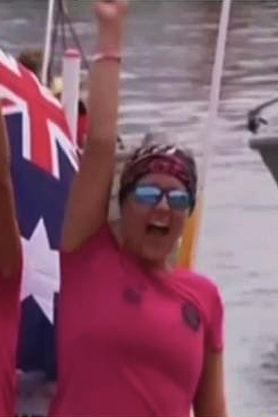 mujeres cruzaron el oceano